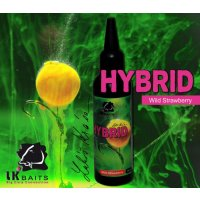 LK Baits Hybrid Activ Wild Strawberry 100ml