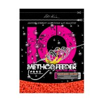 LK Baits IQ Method Feeder Speed Pellets 600g Pikantní broskev/Spicy Peach