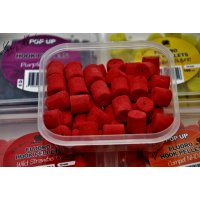 LK Baits Fluoro POP-UP Hook Pellets Wild Strawberry 150ml, 12mm