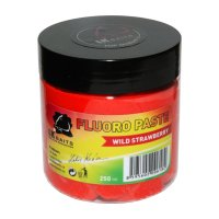 LK Baits Boilie Paste Fluoro Wild Strawberry