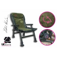 LK Baits Camo High Arm Chair
