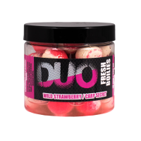 LK Baits DUO X-Tra Fresh Boilies Wild Strawberry/Carp Secret 18mm 250ml