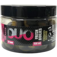 LK Baits DUO X-Tra Fresh Boilies Nutric Acid/Pineapple 14mm 150ml