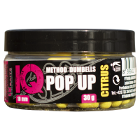 LK Baits IQ Method Dumbels Pop-Up 10mm, 30 g Citrus