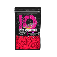 LK Baits IQ Mini Fluoro Boilies 10-12mm,600g Cherry