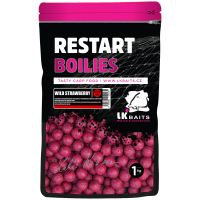 LK Baits ReStart Wild Strawberry 18 mm, 1kg